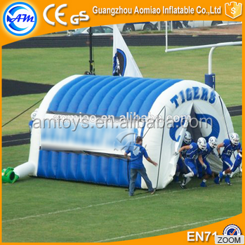 Outdoor inflatable arch tent PVC cheap inflatable football tunnel for sale