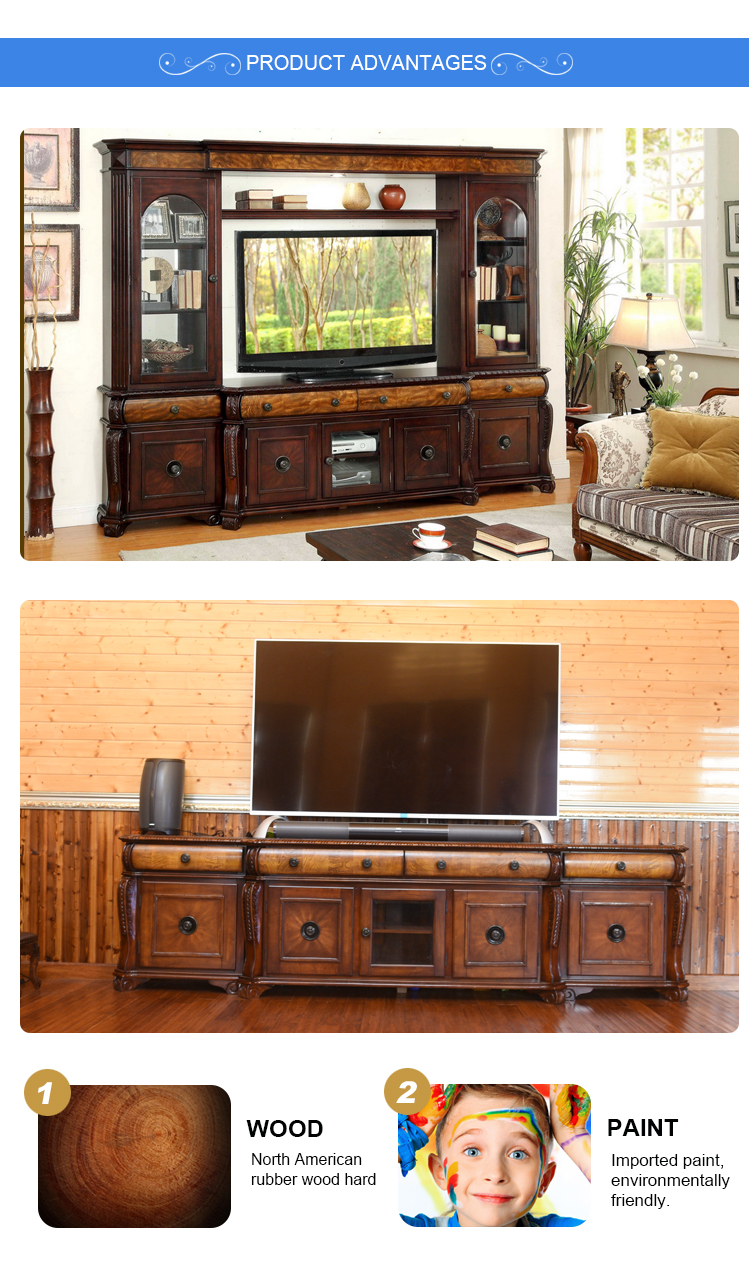 Tv Hall Cabinet Living Room Furniture Designs Wooden Tv: High Quality American Tv Cabinets,Living Room Cabinets