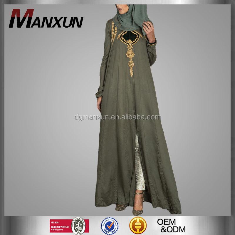 Goede kwaliteit nieuwste modellen abaya moslim lange jurk for Islamitische sportkleding vrouwen