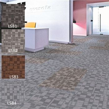High Low Loop Pile Carpet Tile 50 Used For Office Commercial