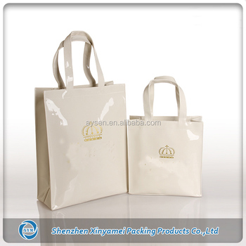 ef20f4f8a1e2 Shinny Pvc Harrods Shopping Bag - Buy Harrods Bag