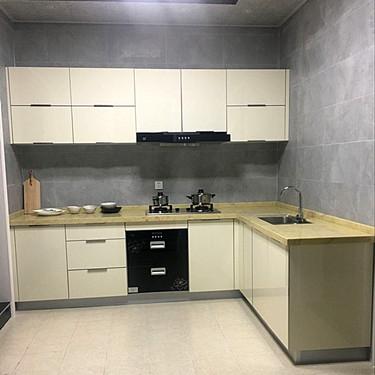 Wood Kitchen Furniture Kichen Cabinet Simple Design Modern Kitchen