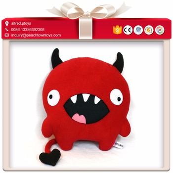 Bad cartoon character doll soft devil stuffed toy