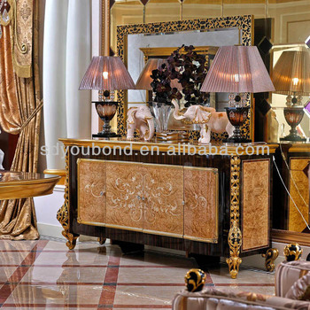 New Design 2014 Italy Dinning Desk And Chair Luxury Wooden