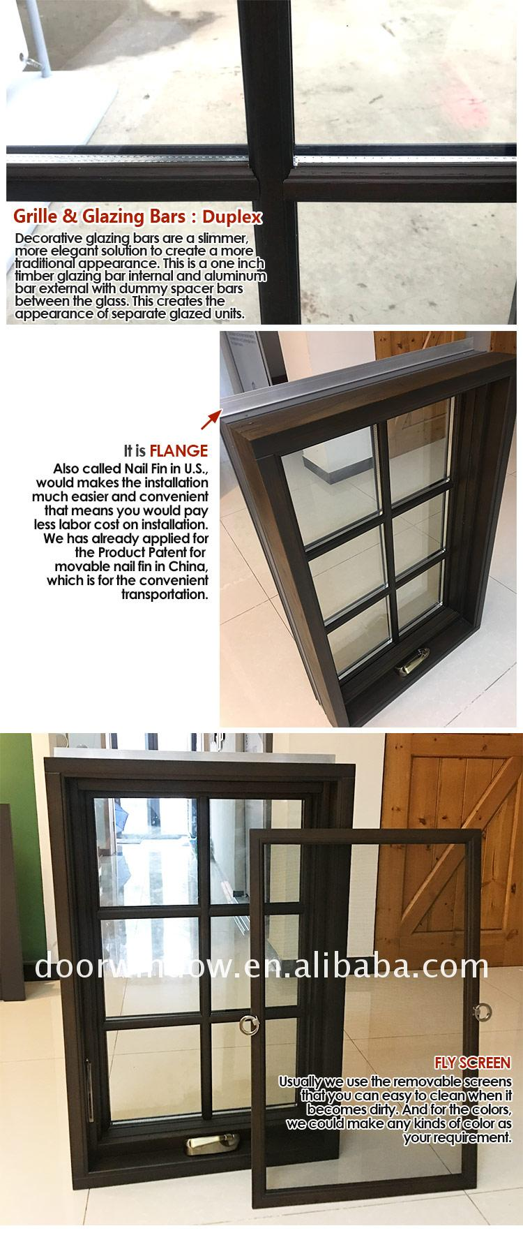 Best selling products crank window out windows
