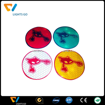 Round reflective sticker engineering grade reflective stickers