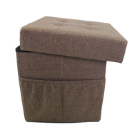 Creative Design Foldaway Ottoman With Storage