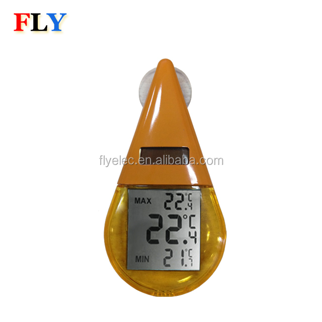 Shower room water temperature digital thermometer