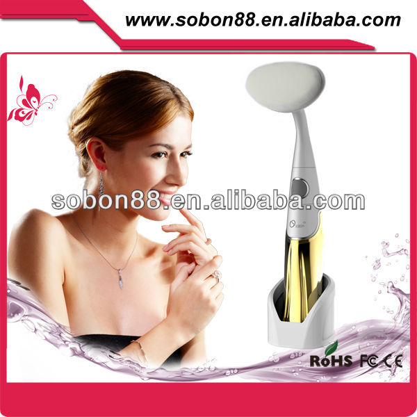 Electric face massager facial clean brush