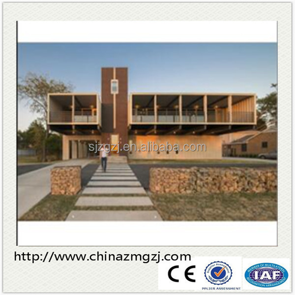 Steel structure prefabricated building / container house / prefab house