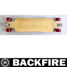 Backfire Drop down through downhill Maple longboard W concave Professional Leading Manufacturer