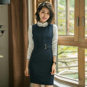 Latest Formal Business Uniform Office Womens Waistcoat Dress Uniform