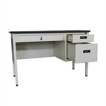 Very cheap furniture home office computer desk metal frame office desk