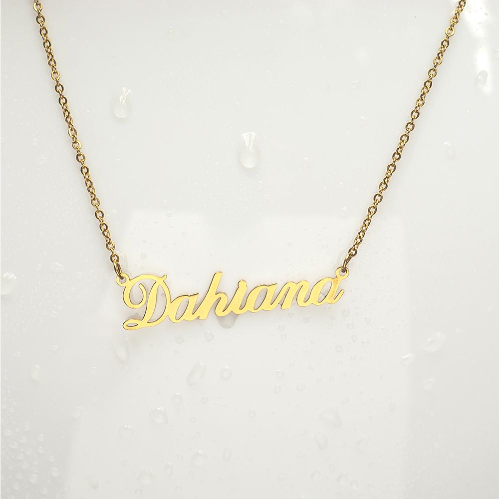 China personalized name necklace wholesale 🇨🇳 - Alibaba