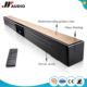 Elegant appearance home theater BT tv sound bar with touch screen