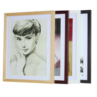 2017 New home decoration pieces wooden wall picture frame