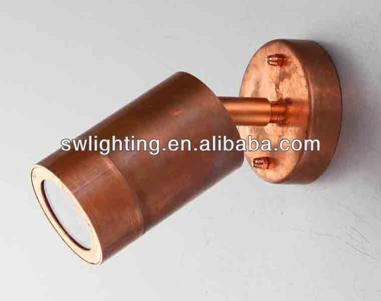 up and down outdoor wall lamp copper lamp GU10 Lampholder 220-240V