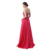 Free Shipping Youthful Long Gown Sleeveless Beaded Backless Sweetheart Appliqued Floor Length Lace-up Chiffon Women Prom Dress