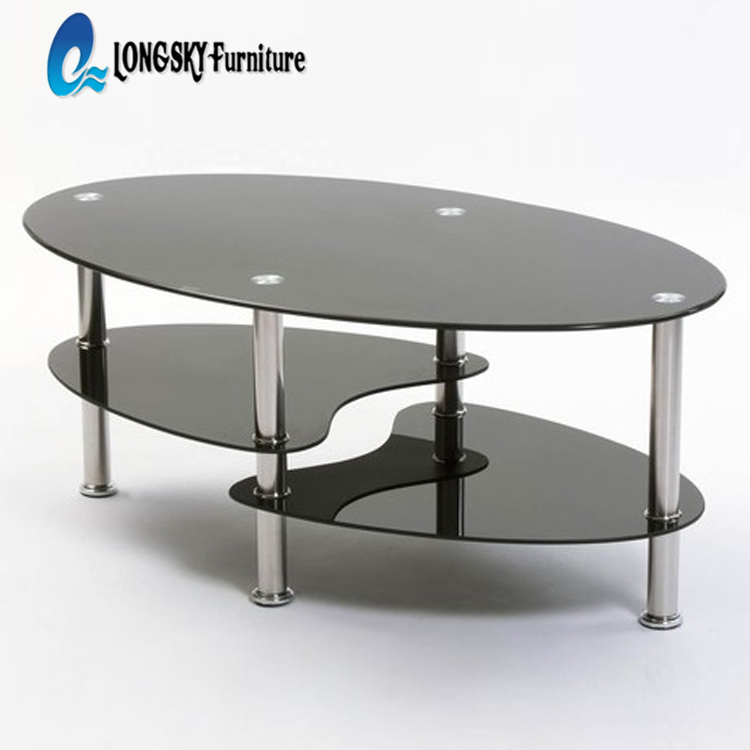 2018 popular Tempered Glass Coffee <strong>Table</strong>