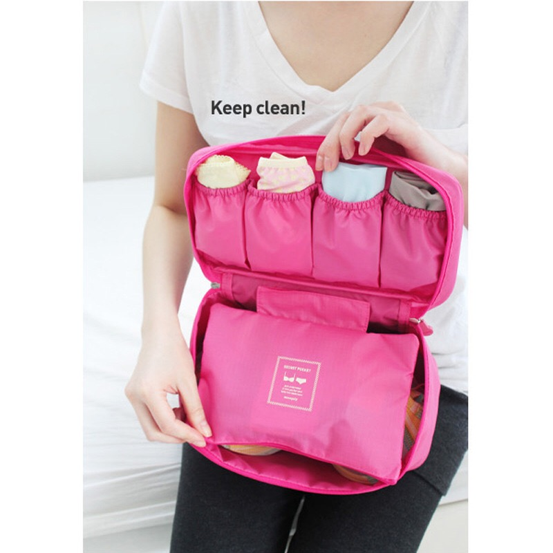 Multi-functional underwear travel bag wash gargle bag storage toiletry bags
