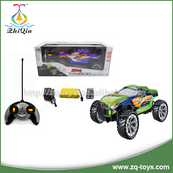 Newest item 4 channel high speed rc car toys for children