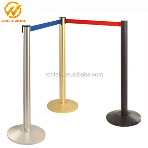 Stainless Steel Stackable Retractable Stanchion Tensa Barrier