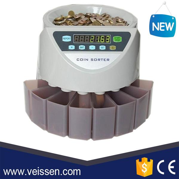 מיוחדים מכונה ספירת מטבעות מטבע סדרן מטבע מכונת מיון עם CE ROHS-מטבע מונים KC-83