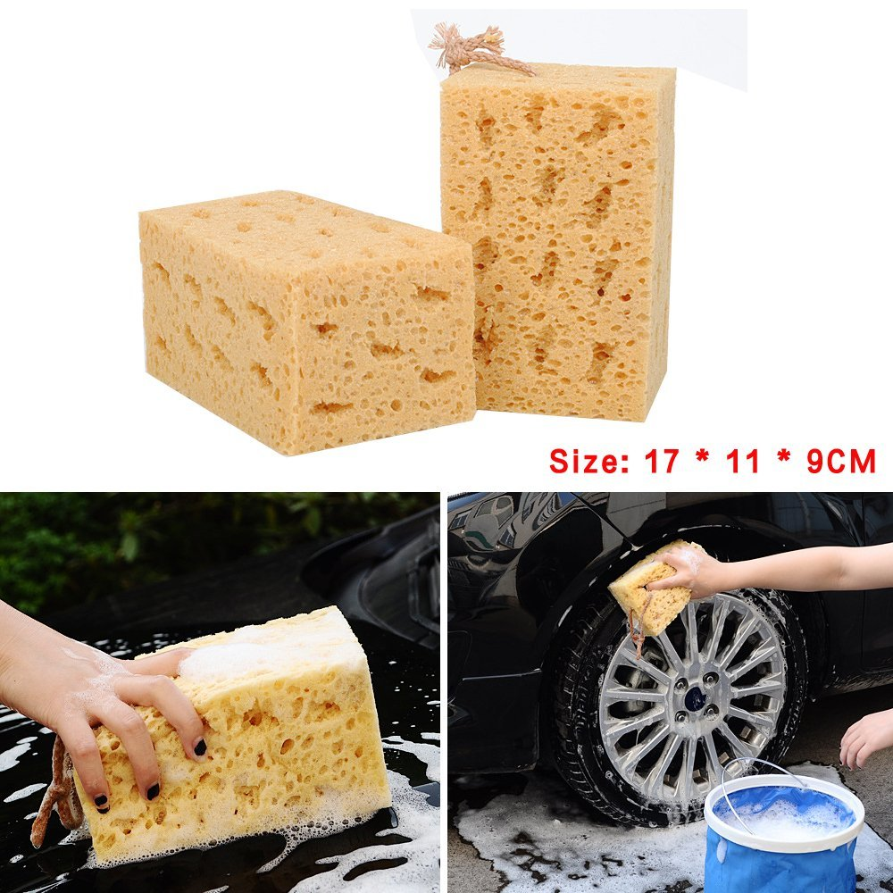 Back To Search Resultshome & Garden Type 8 Wave Honeycomb Car Wash Sponge Cleaning Sponge Cleaning Glass Beauty Wax
