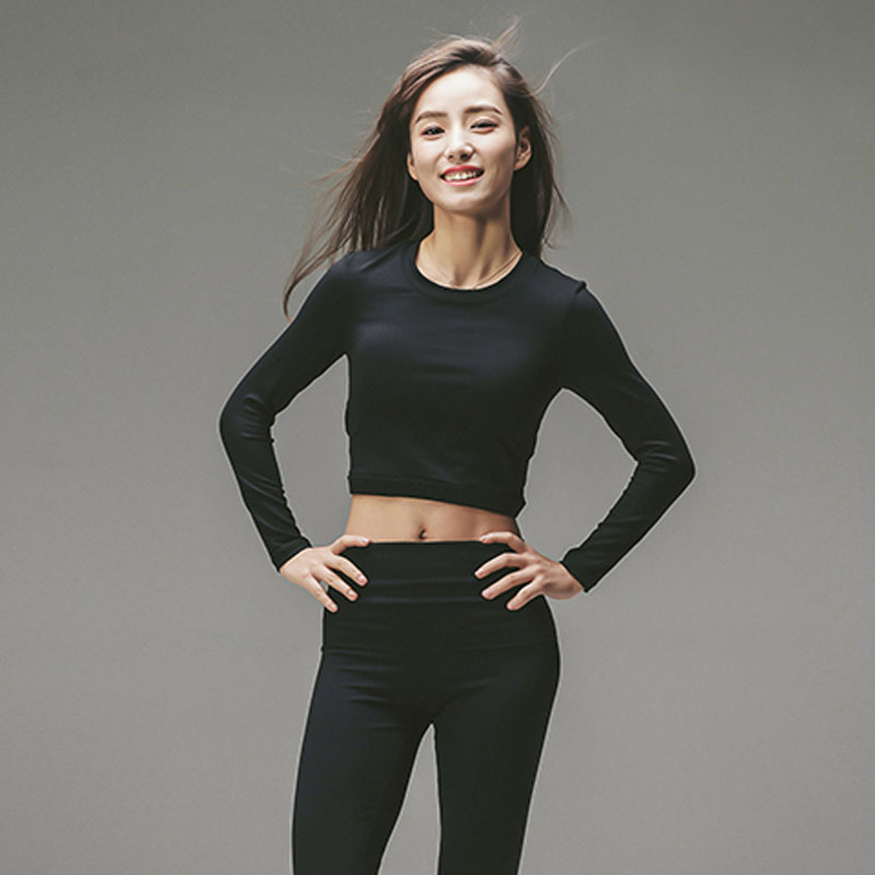 Sports New Model Casual Cotton Spandex Compression Long Sleeve T-Shirts For Women