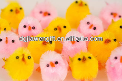 Festive Decoration Assorted Colorful Easter Chicken