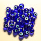 6/8/10/12/14/16/18/20mm China Cheap Round Blue Lampwork Loose Evil Glass Eye Beads for DIY Jewelry Findings