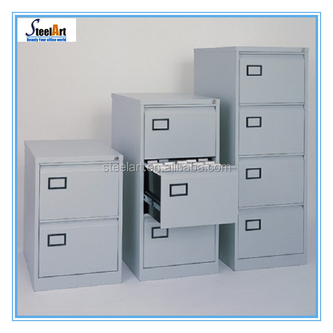 Luoyang SteelArt manufacturer KD structure 2/3/4 drawer steel filing cabinet