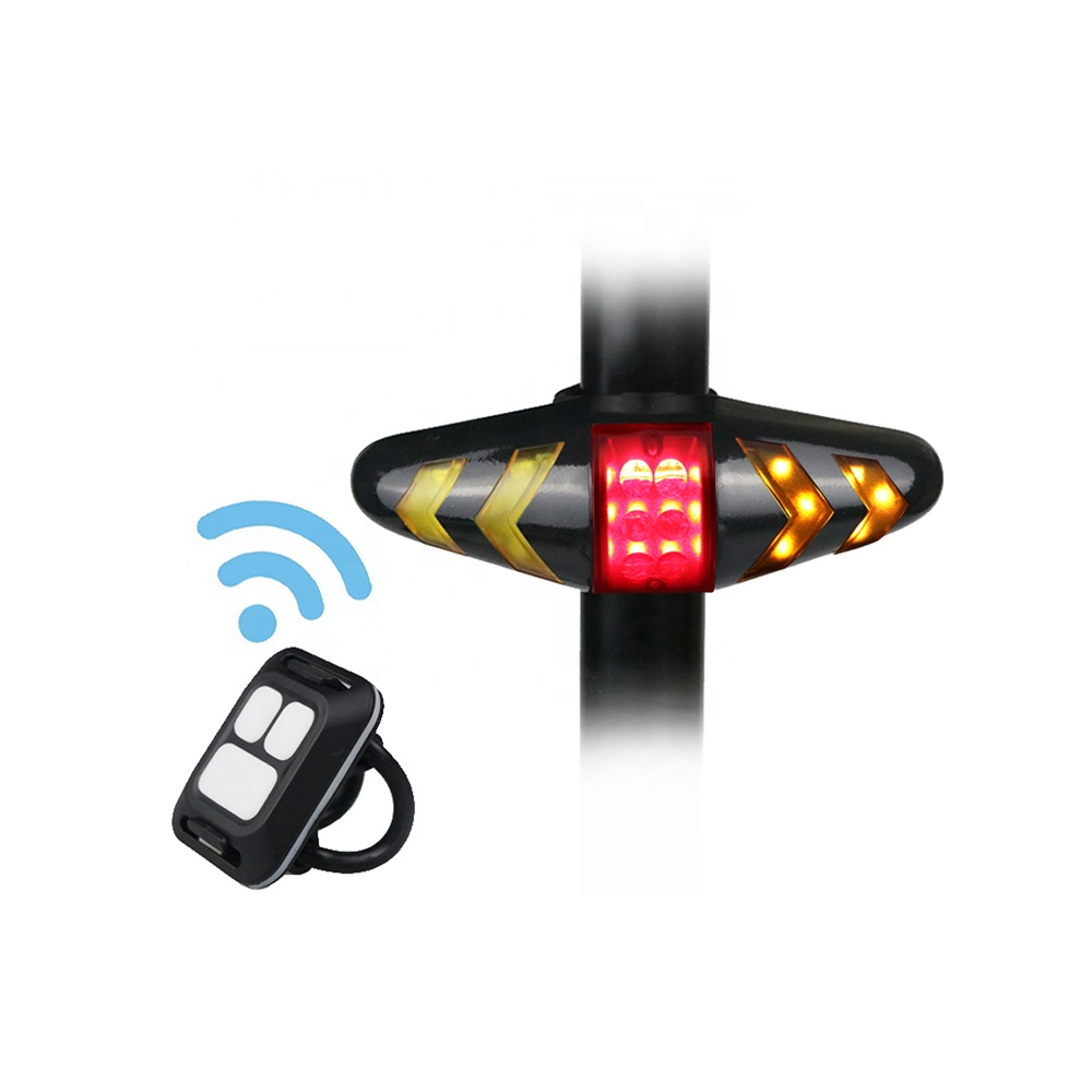 Cycling rear light Smart Remote Control Bicycle Indicator Lamp Wireless Intelligent Safety Turn Signal Rear Lamp Bike Tail Light фото