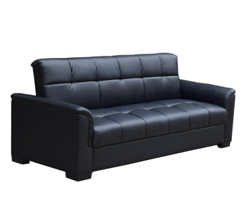 Sofa Beds Storage Rexine Fabric Recliner Single