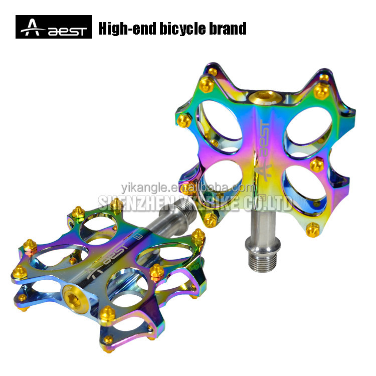 New style oil slick Custom wholesale mountain cnc bicycle parts