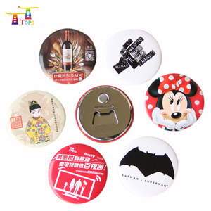 Custom Logo Gifts Crafts Button Jeans Fashion Metal Magnetic Funny Personalized Flashing Led Badge Pin