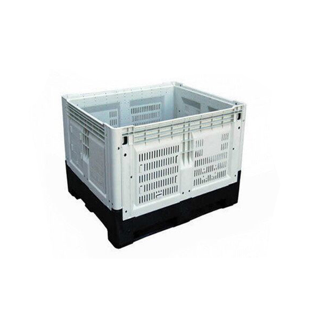 Australia Heavy Duty Collapsible Plastic Pallet Crates Used Fruit Bins For Sale