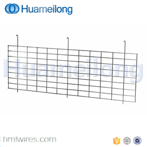 Warehouse metal zinc shelving hanging wire mesh divider