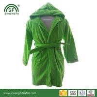 Custom Logo Cotton Terry Hotel Bathrobe /Sleepwear/Nightdress/Robe
