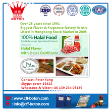 Halal flavor for Beverage and food with Halal Certification