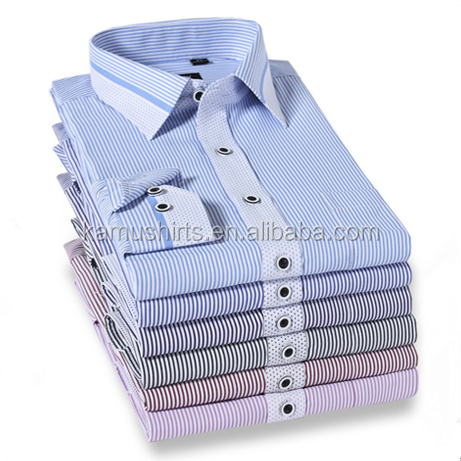 Erkek g mlek slim fit kontrast renkli yaka ve man et for Mens dress shirts with different colored cuffs and collars