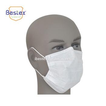 maschera in tessuto viso antipolvere