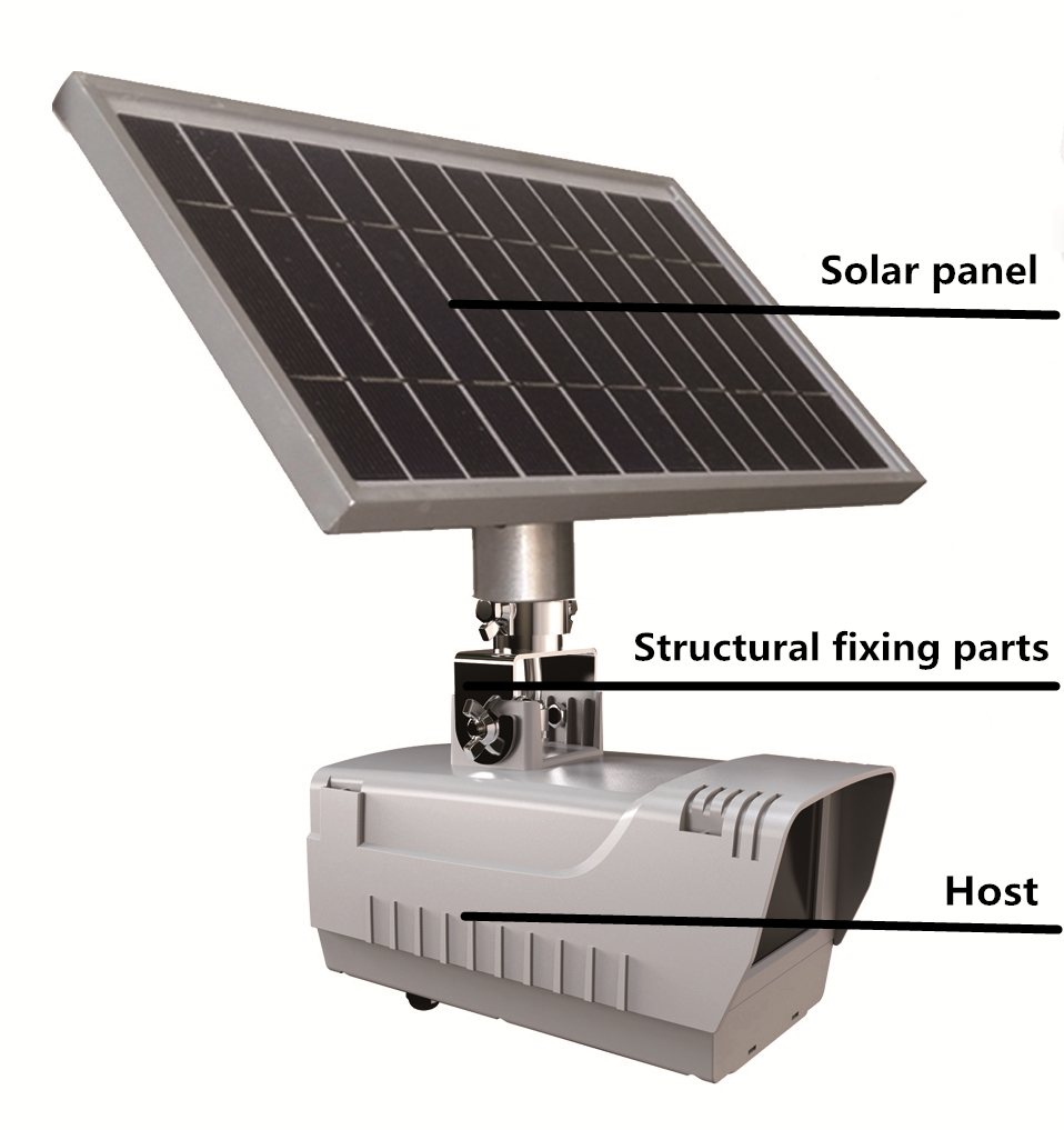 Solar Panel Monitoring System : St b outdoor solar powered camera wireless g sim
