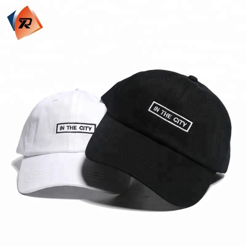 Custom Your Own Logo Embroidery Dad <strong>Hat</strong> With Metal Buckle
