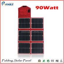 18V and 5V dual output sunpower solar charger for mobile phones and laptop 12V car battery