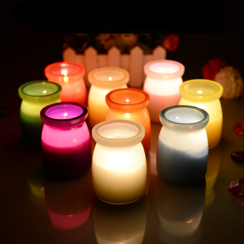 Online buy wholesale scented jar candles from china for Candele on line