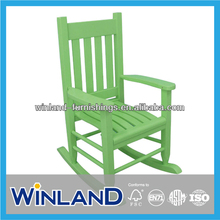 Kids Wooden Classic Muti- Color Rocking Chair- Green