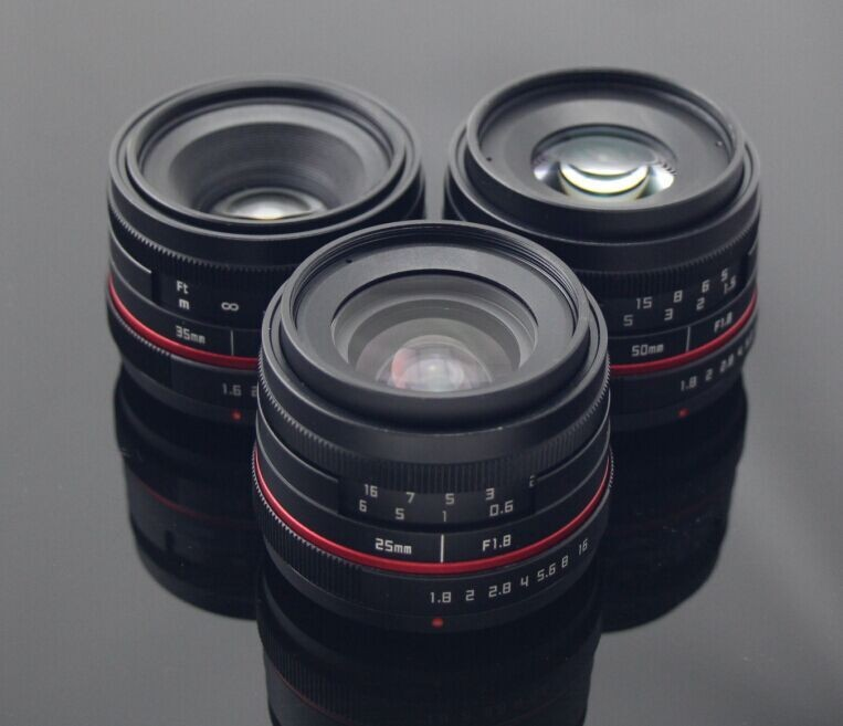 Fujian 25mm New Style Fx Mount Camera Lens