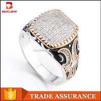 Turkey ottoman jewelry men rings silver 925 latest gold plated finger ring designs most selling products from China