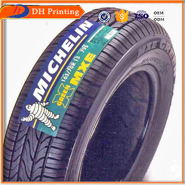 adhesive rubber patch tyre sticker for cars